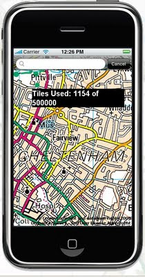 Free OS Maps iPhone