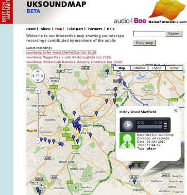 The UK SoundMap Beta - British Library