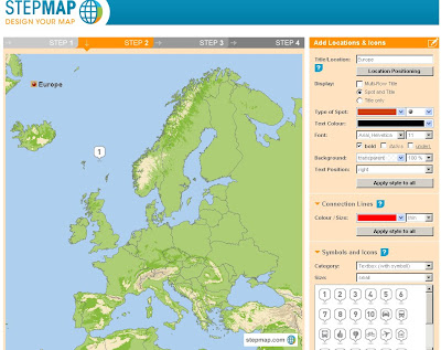 Step Maps - Create Free World Maps - Step2