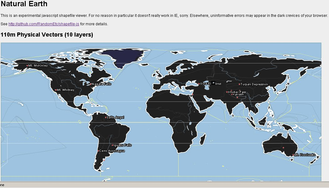 Shapefile HTML Viewer Complex