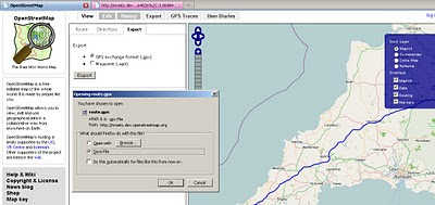 OSM Export Your Route