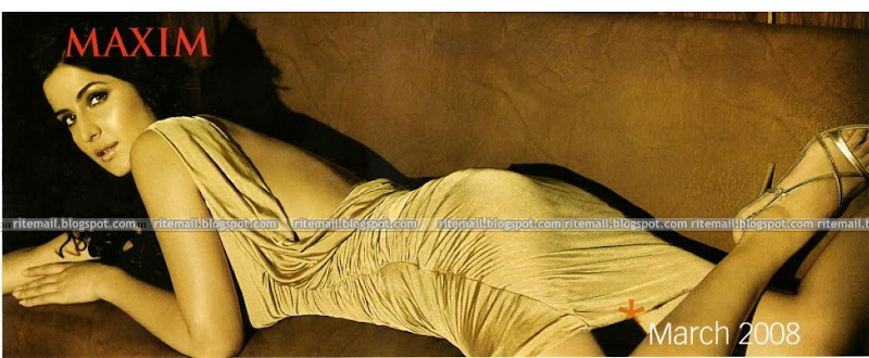 Katrina Kaif Maxim Scan Photo Gallery