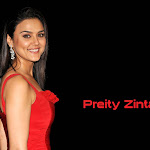 Gorgeous Preety Zinta In Red