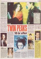 Twin Peaks 10 år efter, Ekstra Bladet 08.09.2000