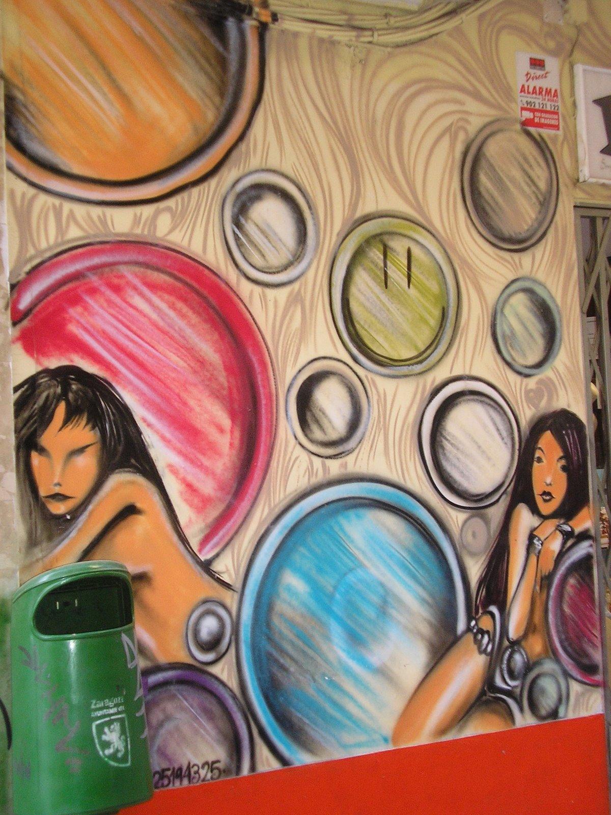 El blog de juan royo paredes pintadas en zaragoza - Paredes pintadas ...