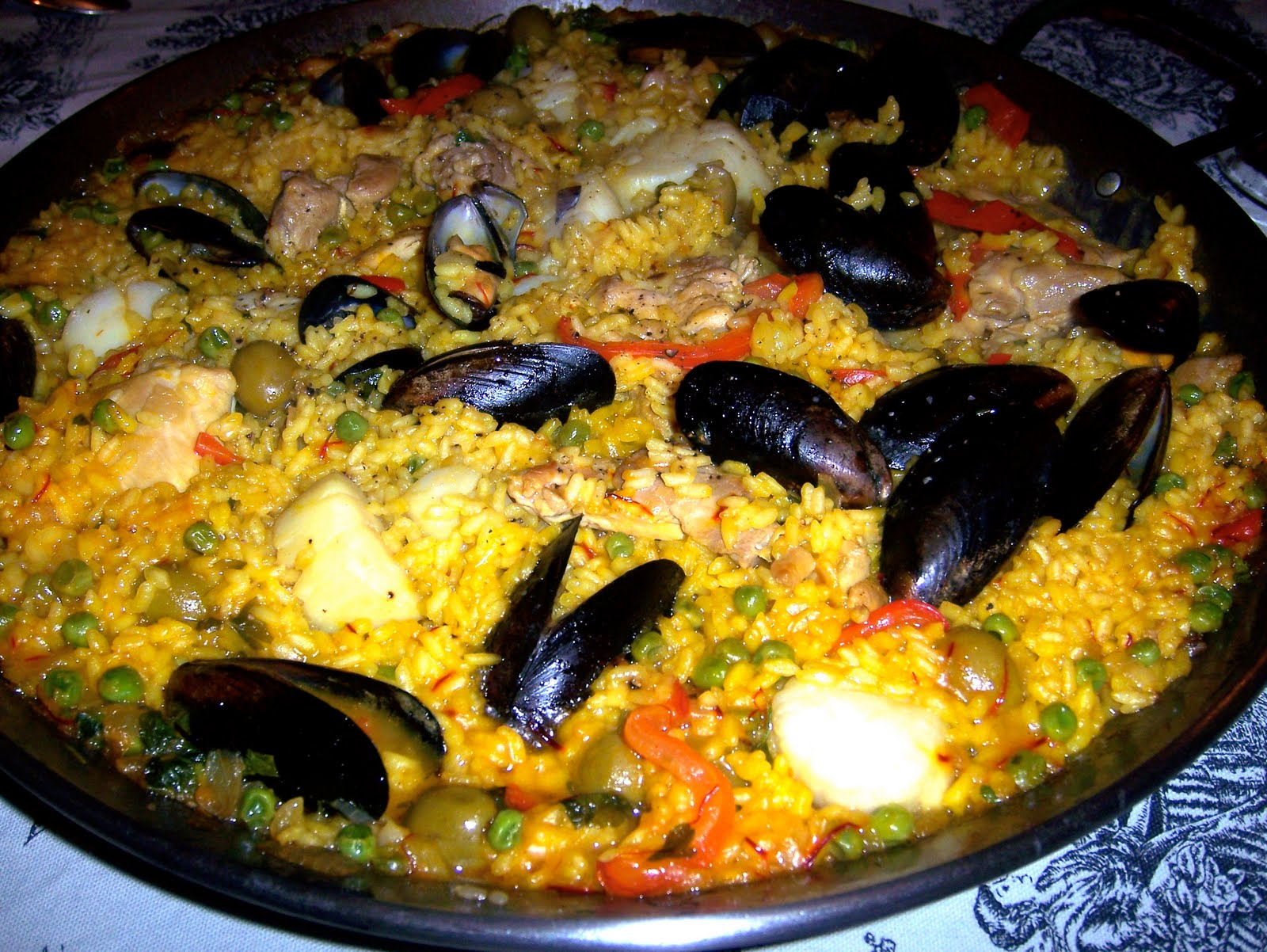 AROUND THE TABLE WITH LORETTA: Seafood Paella