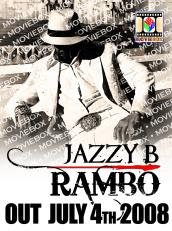 Jazzy B Rambo CD Cover