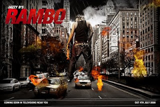jazzy b rambo poster of wallpaper size