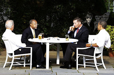 Obama Beer Summit at the White House