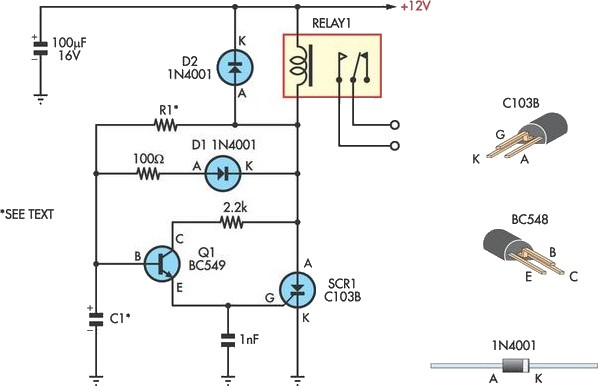 time delay circuit schematic diagram get free image about wiring diagram