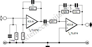 RIAA Phono Preamplifier Circuit Diagram