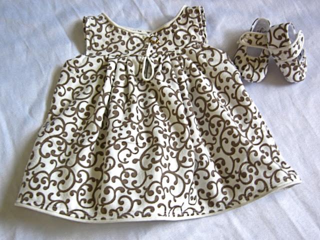bebek elbisesi yapımı