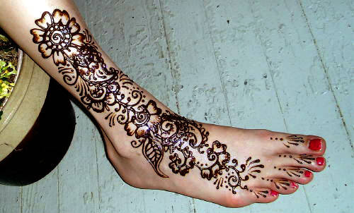 mehndi designs henna design on feet feet mehndi designs. Black Bedroom Furniture Sets. Home Design Ideas