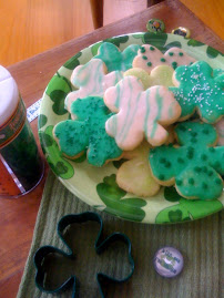 Luck of the Irish Cookies