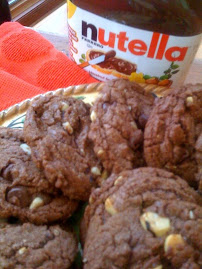 Mary's Nutella Cookies