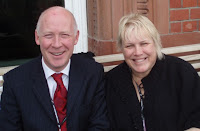 Jonathan Shaw MP and Tina Walker