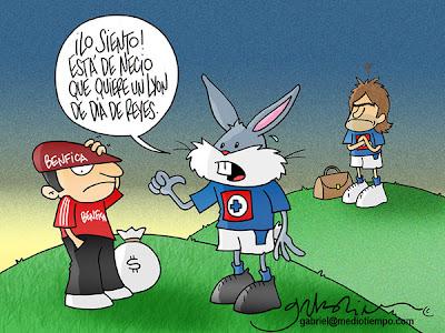 Caricaturas America Humillando Al Cruz Azul Todo Para Facebook | Auto ...