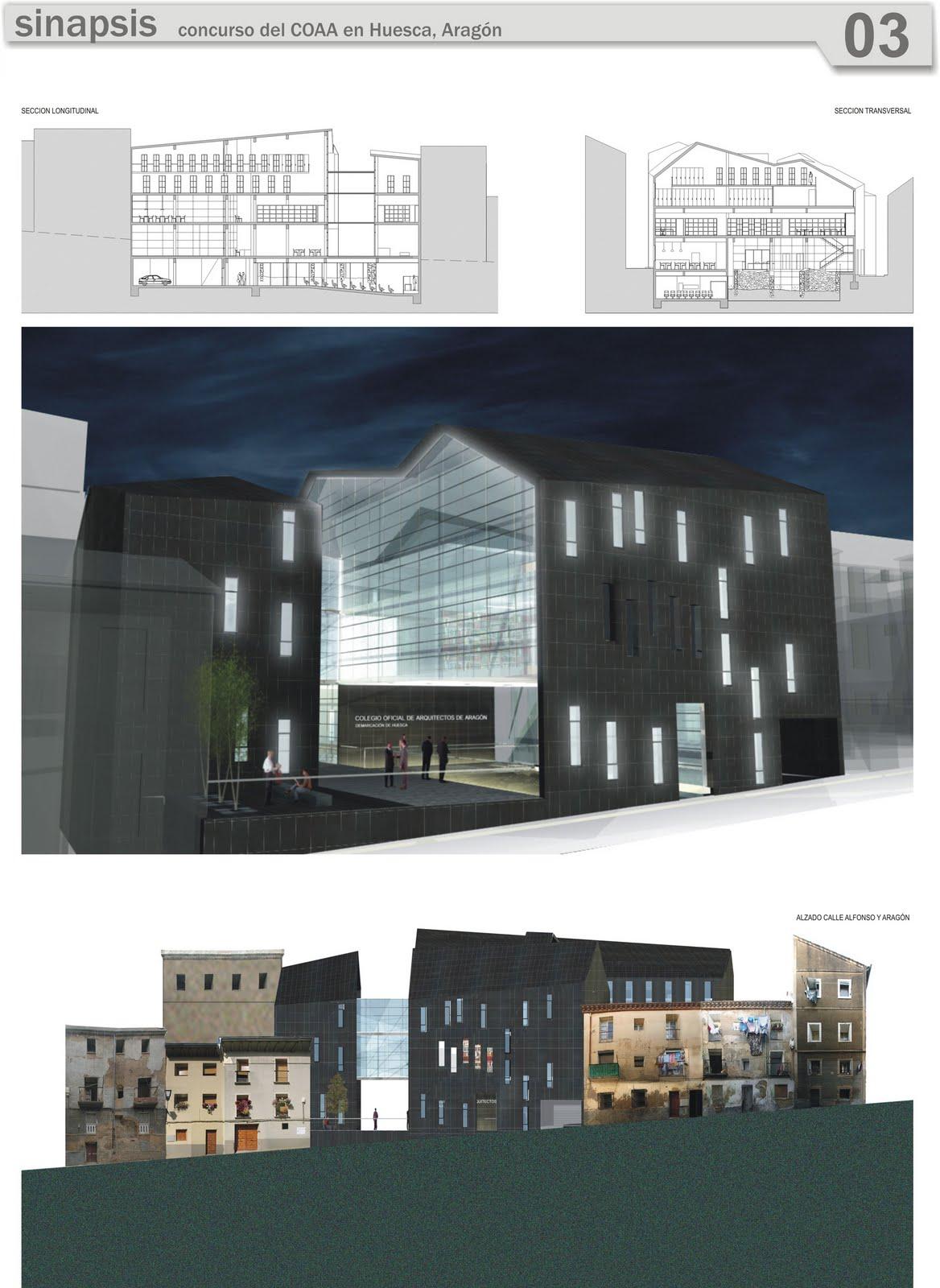 Portafolio colegio de arquitectos en huesca - Arquitectos huesca ...