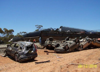 car carrier derailment
