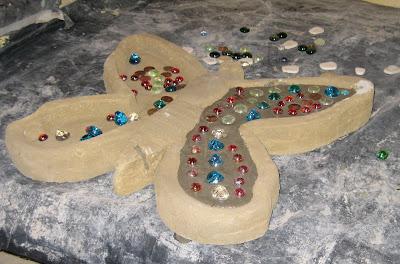 From The Summer 39 S Garden Butterfly Memorial Stones For Jordan