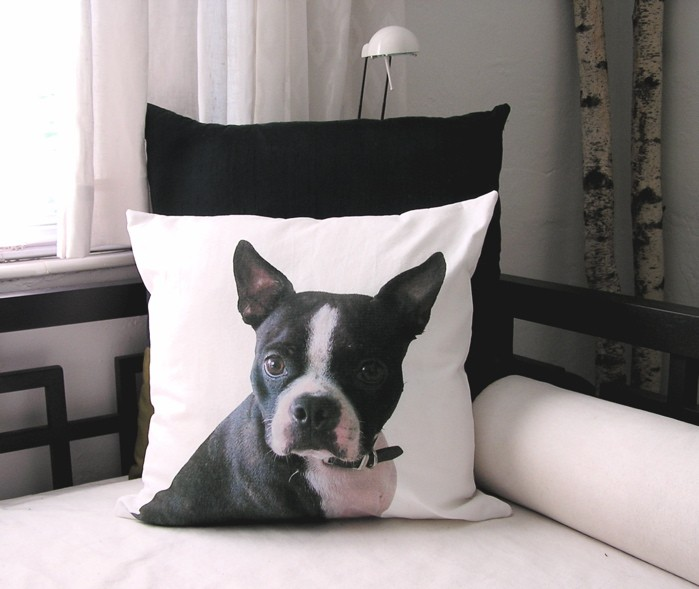 jadoremydog personalized cushion coussin personalis. Black Bedroom Furniture Sets. Home Design Ideas