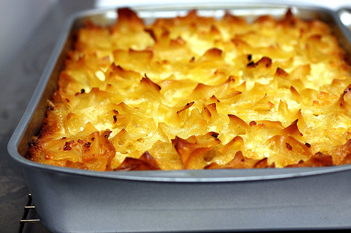 Anna's Bakery Blog: Mock Sou Berag (Armenian Mac & Cheese)