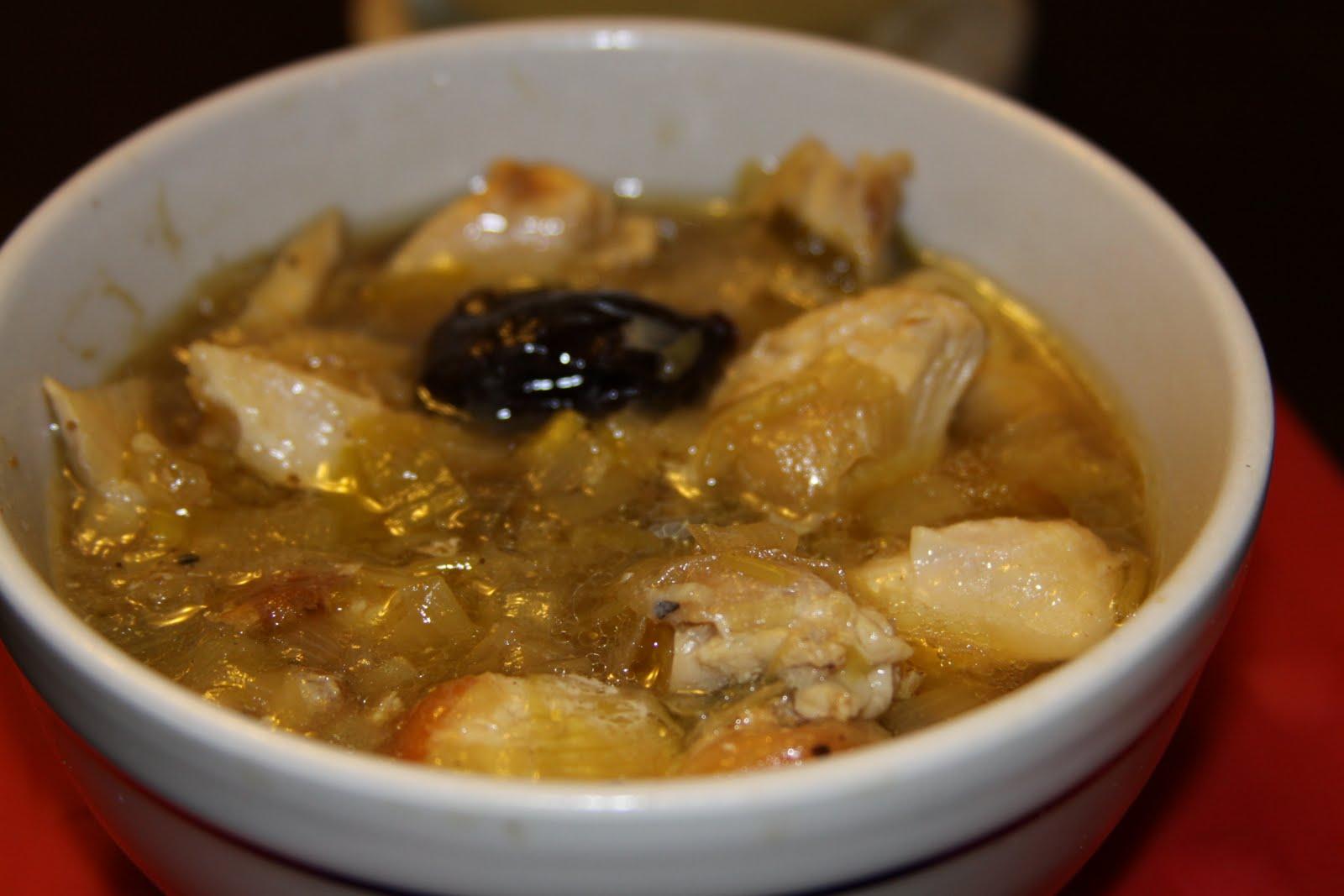Foodie N00b: Cock-a-Leekie Soup