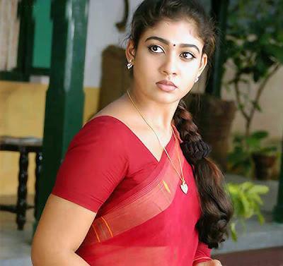 Nayanatara hot and sexy wallpapers: hot actress nayanatara saree stills 1