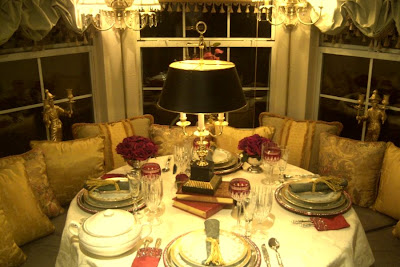 Beaux Mondes Designs TableScape Thursday The Round Table Book - Book table for dinner