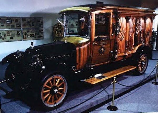 1922 Packard Carved Panel Hearse ~