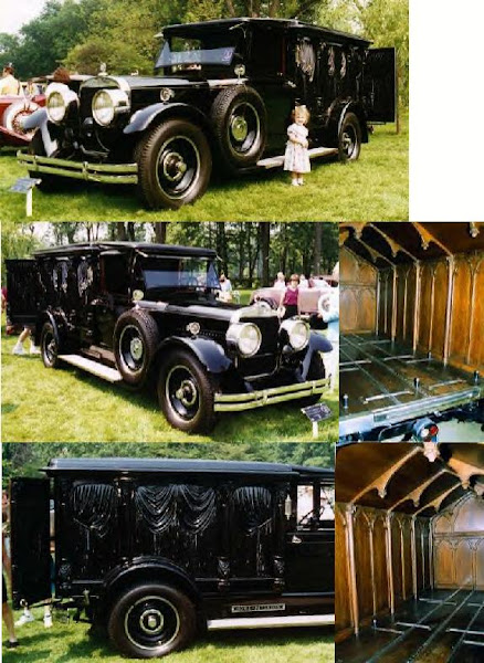 1929 Cunningham Cathedral Hearse ~