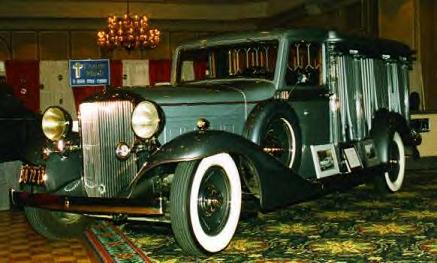 1934 Cunningham Hearse ~