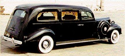 1938 Packard Henney Hearse ~