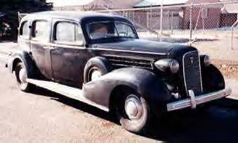 1936 Cadillac Fleetwood Hearse ~