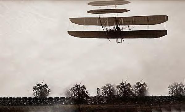Wright Bros flight 46. Last flight of 1905, Dayton, Ohio