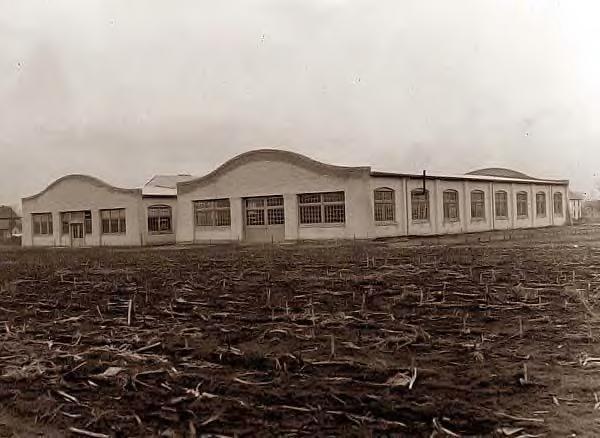 Wright company factory. Dayton, Ohio. 1911
