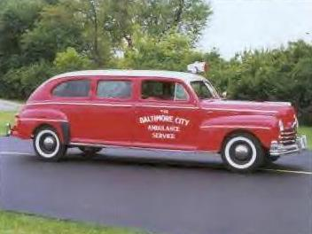 1948 Ford Ambulance