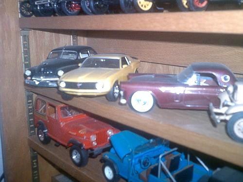 1949 Mercury, 1967 Mustang 302, 1957 Thunderbird