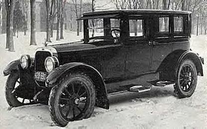 1921 Chandler Limo ~