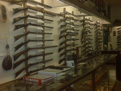 Log cabin gun shop for Log cabin gunsmithing