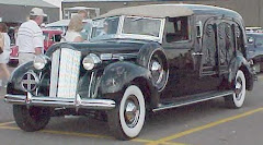 1938 Packard Millertown Hearse ~