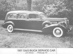 1937 Buick Hearse ~