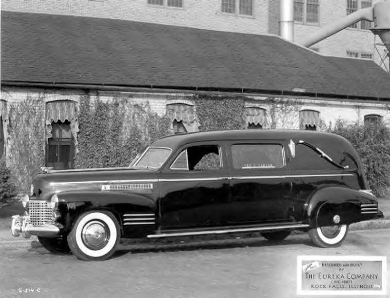 1940 Cadillac Eureka Hearse ~