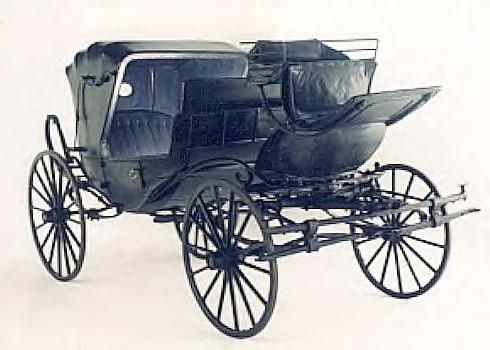 ARTIFACTS ~ This Carriage took Lincoln to Ford's Theater