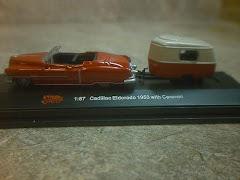 1953 Cadillac & Camper