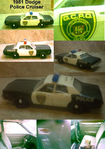 1981 Dodge Monaco Police Cruiser ~