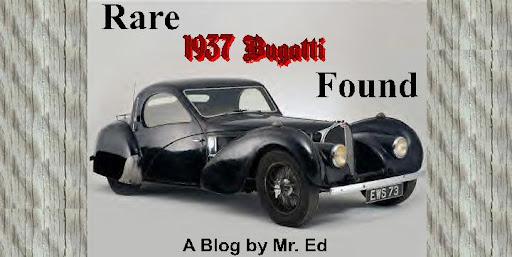 Rare 1937 Bugatti Found