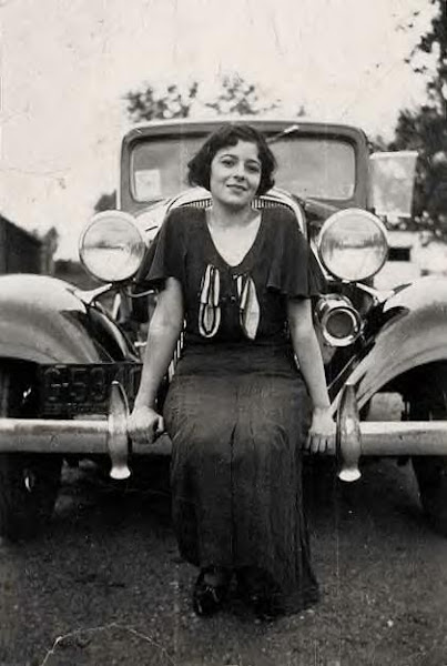 Mary Feeney in Kensington, MD. 1930s