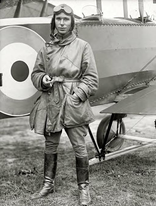 Lieut. Stephen Bonsal Jr., one of the young Army flyers, 191