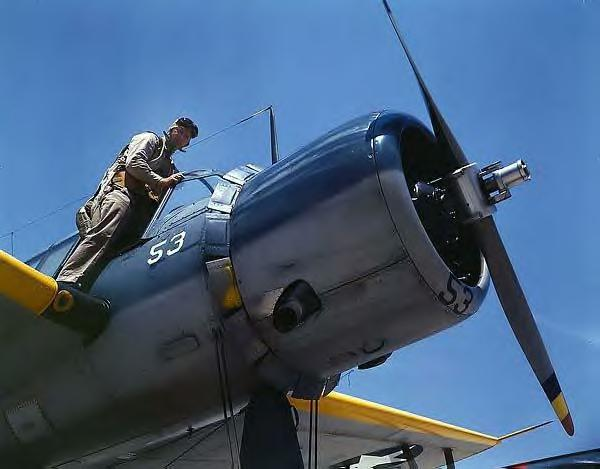 Naval Air Base. Corpus Christi, Texas. 1942